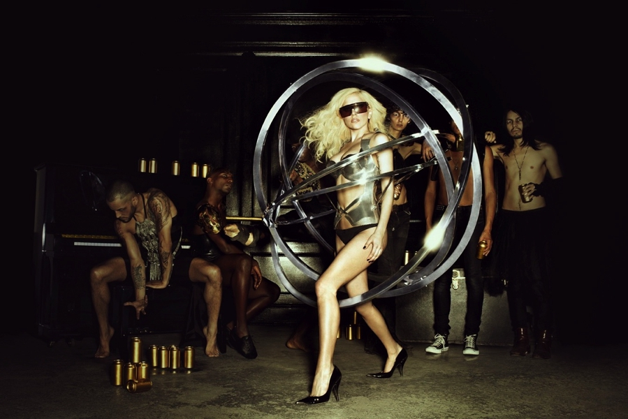 Lady Gaga Orbit Dress