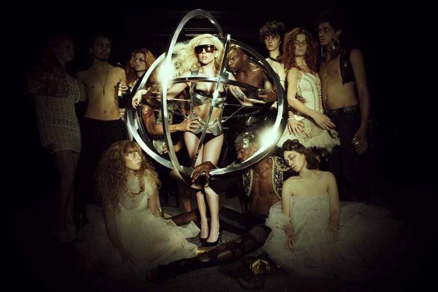 Lady Gaga Orbit Dress