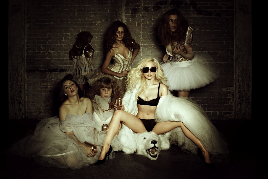 Lady Gaga Polar Bear